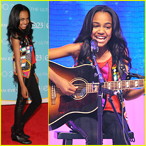 China Anne McClain: A.N.T Farm at D23!