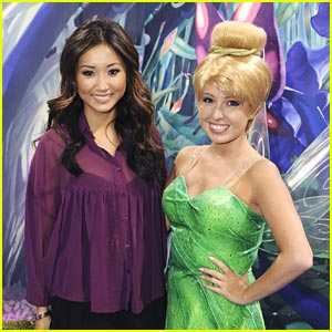 Brenda Song: Pixie Hollow Games at D23!