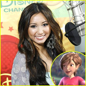 Brenda Song: Pixie Hollow Games Are Coming!