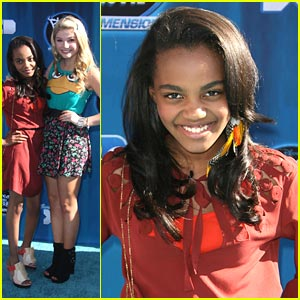China Anne McClain & Stefanie Scott: ANTS in the '2nd Dimension'