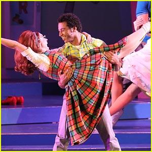 Corbin Bleu: 'Hairspray' Opening Night!