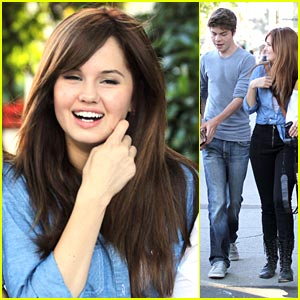 Debby Ryan is a Shrinking Violet