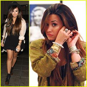 Demi Lovato: Tresses Before Teddy's