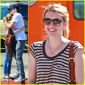 Emma Roberts & Chord Overstreet: Joan's On Third Twosome