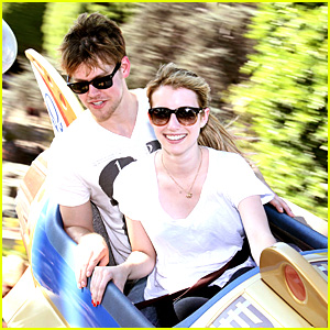 Emma Roberts &#038; Chord Overstreet: Disneyland Date!