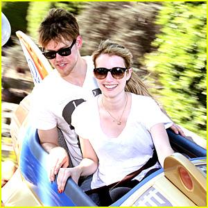 Emma Roberts & Chord Overstreet: Disneyland Date!