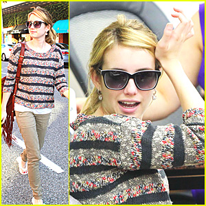 Emma Roberts: Mani-Pedi Person