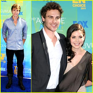 Grey Damon & Benjamin Stone -- Teen Choice Awards 2011