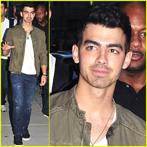 Joe Jonas: Late Show With Letterman!