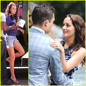 Leighton Meester &#038; Ed Westwick: Promo Shoot Sweeties