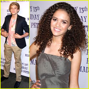 Madison Pettis: 13th Birthday Party with Cody Simpson!