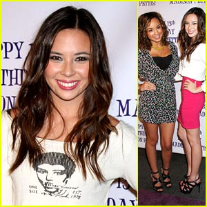 Malese Jow Celebrates Madison Pettis' Birthday