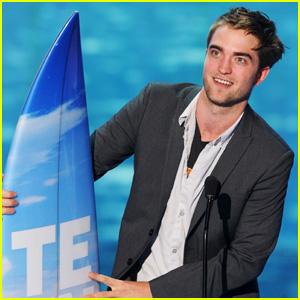 Robert Pattinson - Teen Choice Awards 2011 Winner!