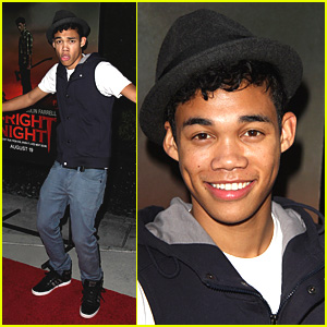 Roshon Fegan: 'Fright Night' Fun!
