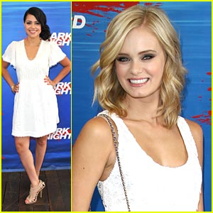 Sara Paxton & Alyssa Diaz are 'Swimming with the Sharks'