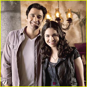 Vanessa Marano & Gilles Marini: Dad & Daughter Reunite!