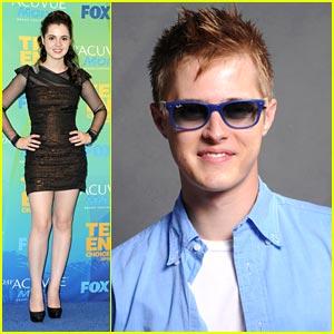 Vanessa Marano & Lucas Grabeel -- Teen Choice Awards 2011