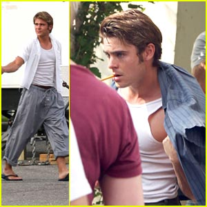 Zac Efron: Pencil-Chewing 'Paperboy'