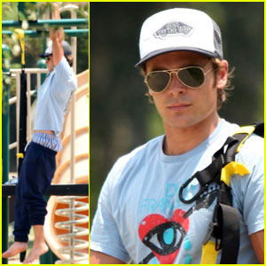Zac Efron: 'Paperboy' at the Playground