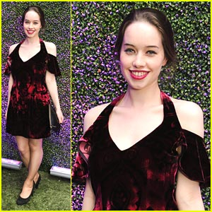 Anna Popplewell: Fashion's Night Out with Armani!