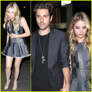 Ashley Benson: Chateau Marmont With Ryan Good!