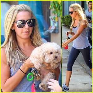 Ashley Tisdale: Maui Gets Groomed
