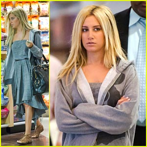 Ashley Tisdale: Off To Miami!