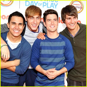 Big Time Rush: Worldwide Day of Play Performers!