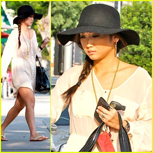 Brenda Song: Pampered with a Pedicure