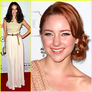 Haley Ramm & Chloe Bridges: Teen Vogue Young Hollywood Party Pair