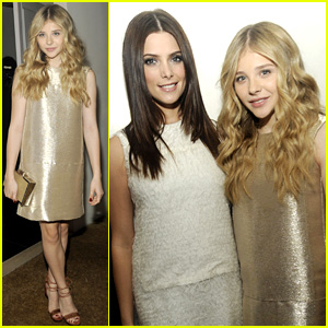 Chloe Moretz: Calvin Klein Dinner With Ashley Greene!