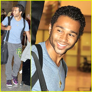 Corbin Bleu Takes On Toronto