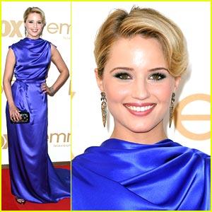 Dianna Agron -- Emmy Awards 2011