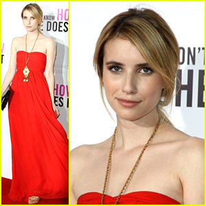 Emma Roberts: Red Carpet Rose!