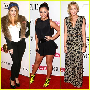 Megan Park & Francia Raisa: Teen Vogue Young Hollywood Hotties!