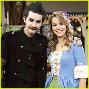 Jason Dolley Goes Goth on 'Good Luck Charlie'!