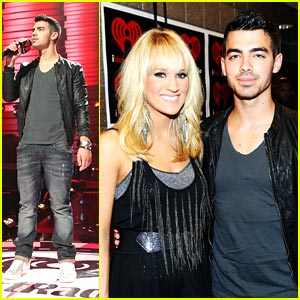 Joe Jonas: iHeart Radio Music Festival!