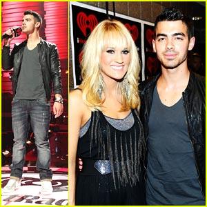 Joe Jonas: iHeart Radio Music Festival!