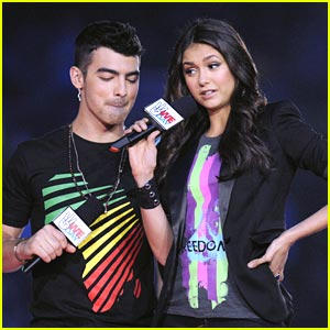 Joe Jonas & Nina Dobrev: We Day Hosts!