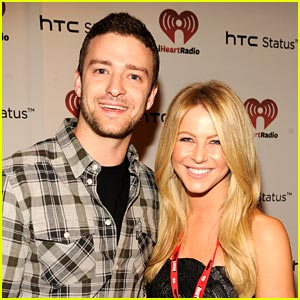 Julianne Hough: iHeartRadio with Justin Timberlake!
