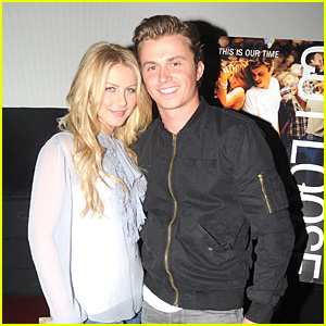 Julianne Hough: 'Footloose' Screening with Kenny Wormald!