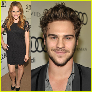 Katie Leclerc & Grey Damon Kick Off Emmy Week!