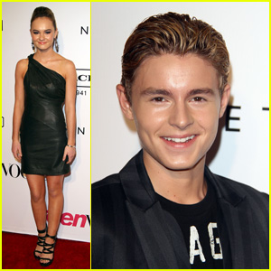 Madeline Carroll & Callan McAuliffe: Teen Vogue Young Hollywood Party