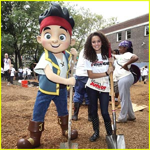 Madison Pettis Builds a Playground in Philadelphia