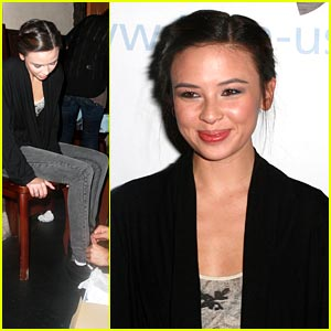 Malese Jow: 'Paul Wesley is an Amazing Actor'