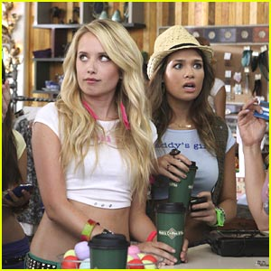 Megan Park & Nicole Anderson on 'Happy Endings' -- FIRST LOOK!