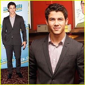 Nick Jonas 'Succeeds' at Sardi's
