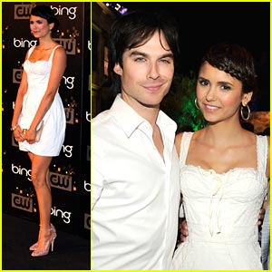 Nina Dobrev: CW Premiere Party Pretty