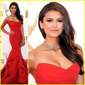 Nina Dobrev -- Emmy Awards 2011