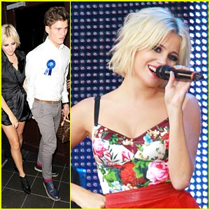 Pixie Lott Celebrates 'All About Tonight' Number 1!